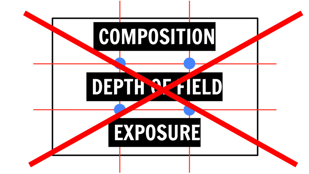 COMPOSITION DEPTH OF FIELD EXPOSURE