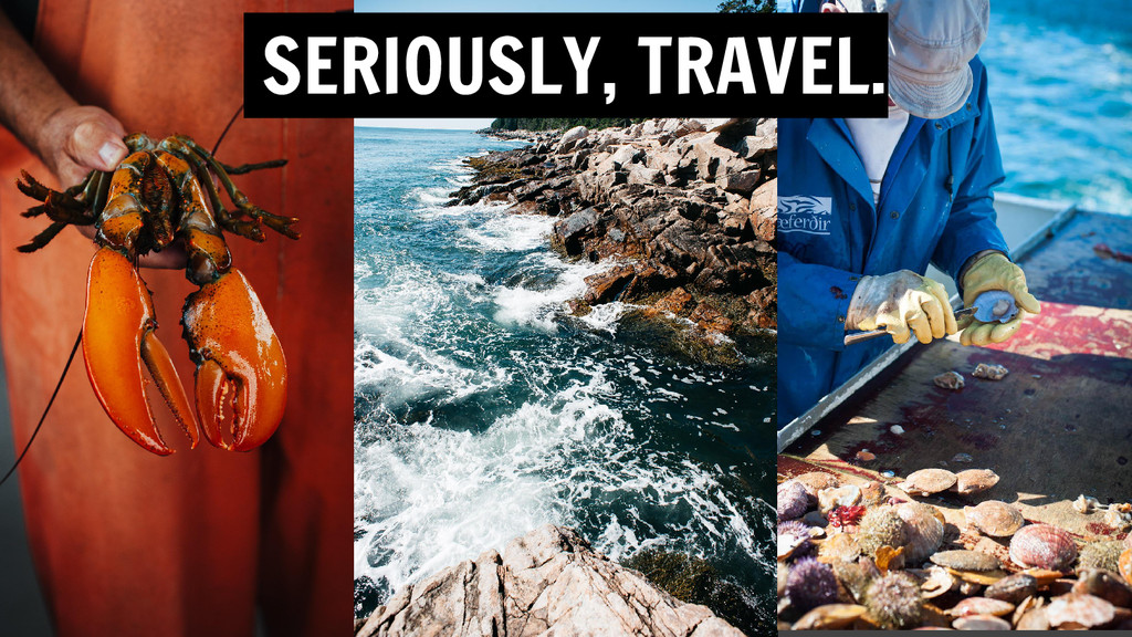 SERIOUSLY, TRAVEL.