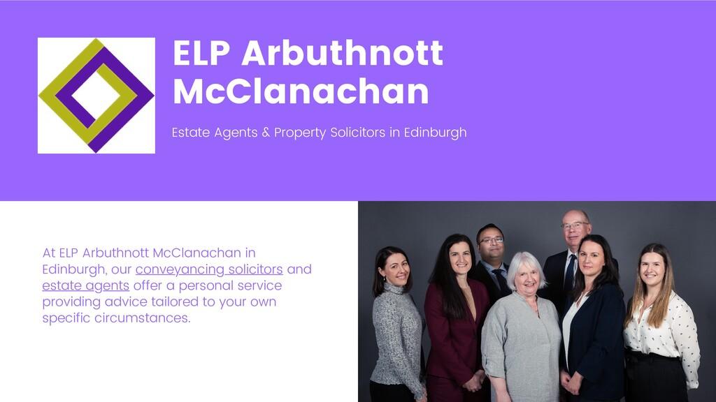 ELP Arbuthnott McClanachan Estate Agents & Prop...
