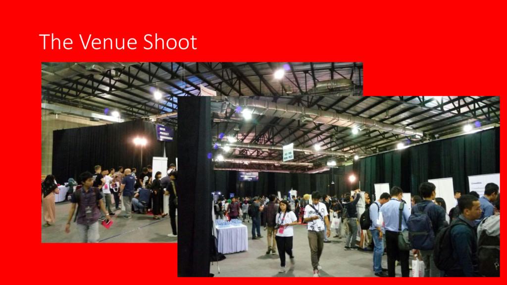 The Venue Shoot