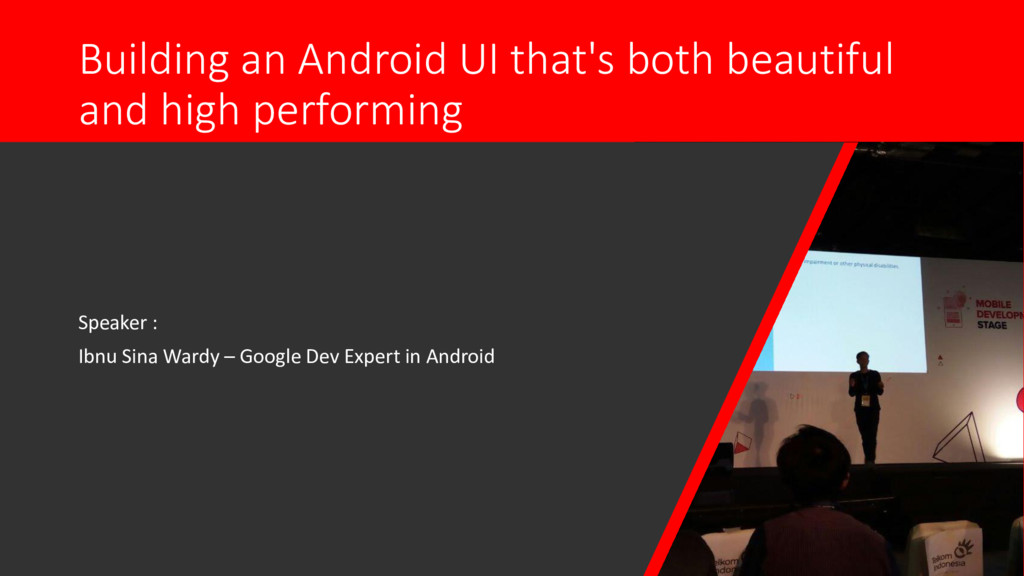 Building an Android UI that's both beautiful an...