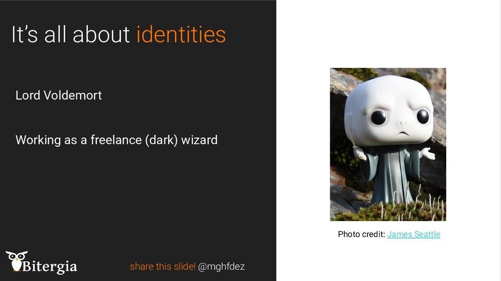 share this slide! @mghfdez Photo credit: James ...