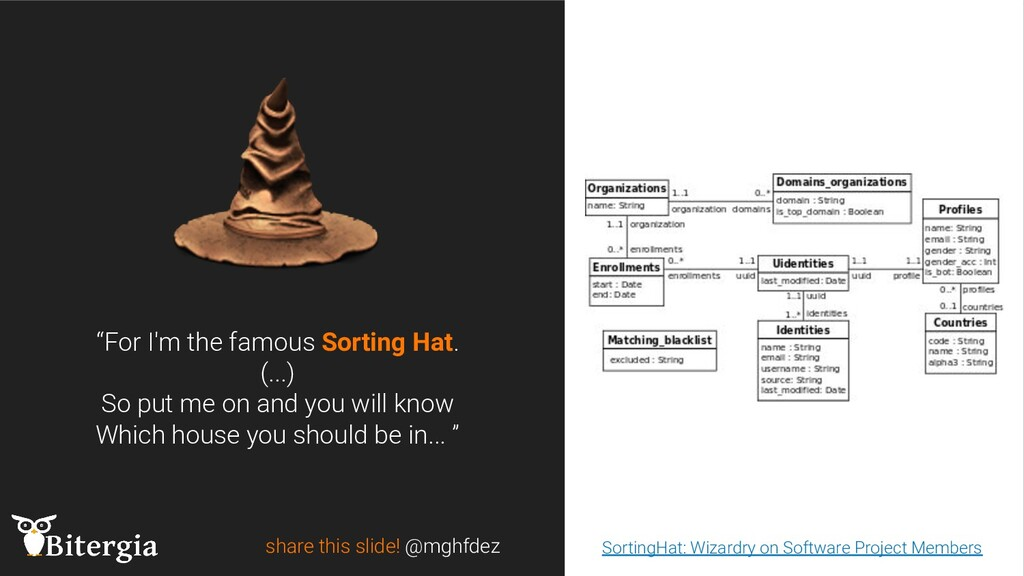 """share this slide! @mghfdez """"For I'm the famous ..."""