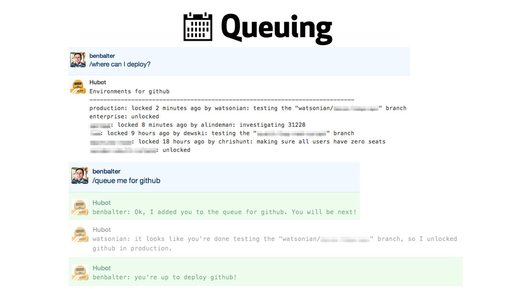 < Queuing