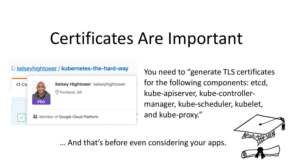 """Certificates Are Important You need to """"generat..."""
