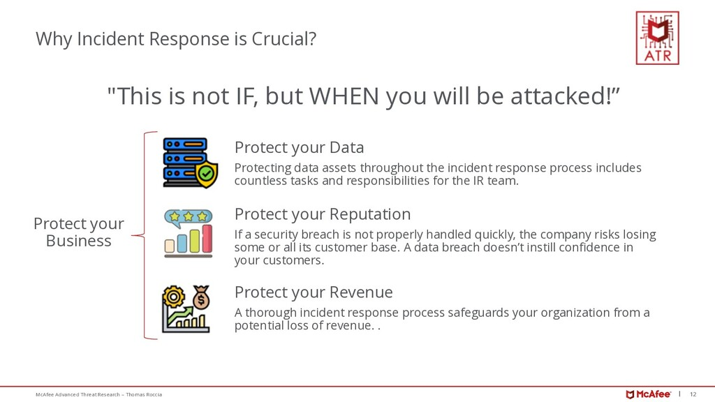 12 McAfee Advanced Threat Research – Thomas Roc...