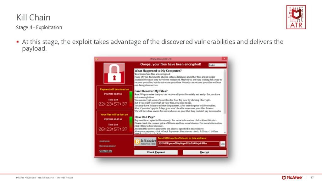 17 McAfee Advanced Threat Research – Thomas Roc...