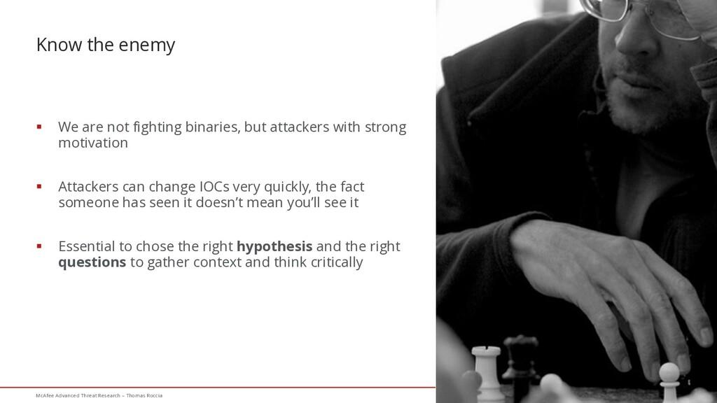37 McAfee Advanced Threat Research – Thomas Roc...