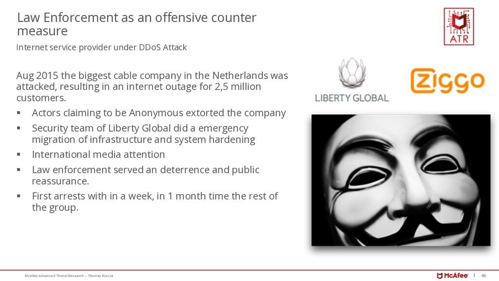 46 McAfee Advanced Threat Research – Thomas Roc...