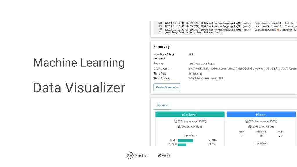 Machine Learning Data Visualizer ̴̴@xeraa