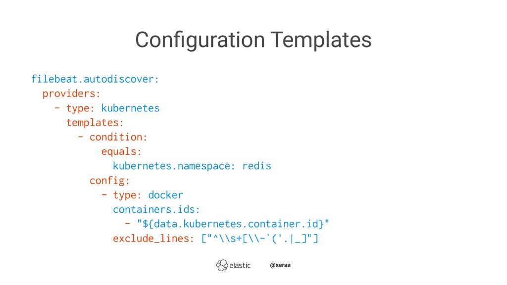 Configuration Templates filebeat.autodiscover: p...