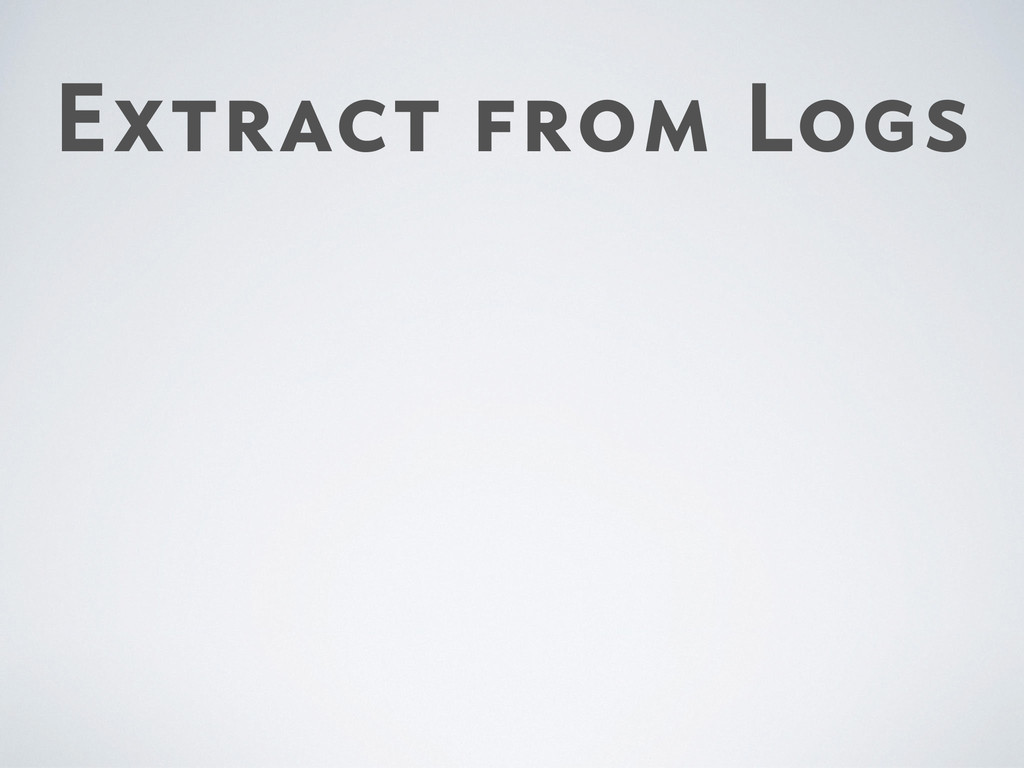 Extract from Logs