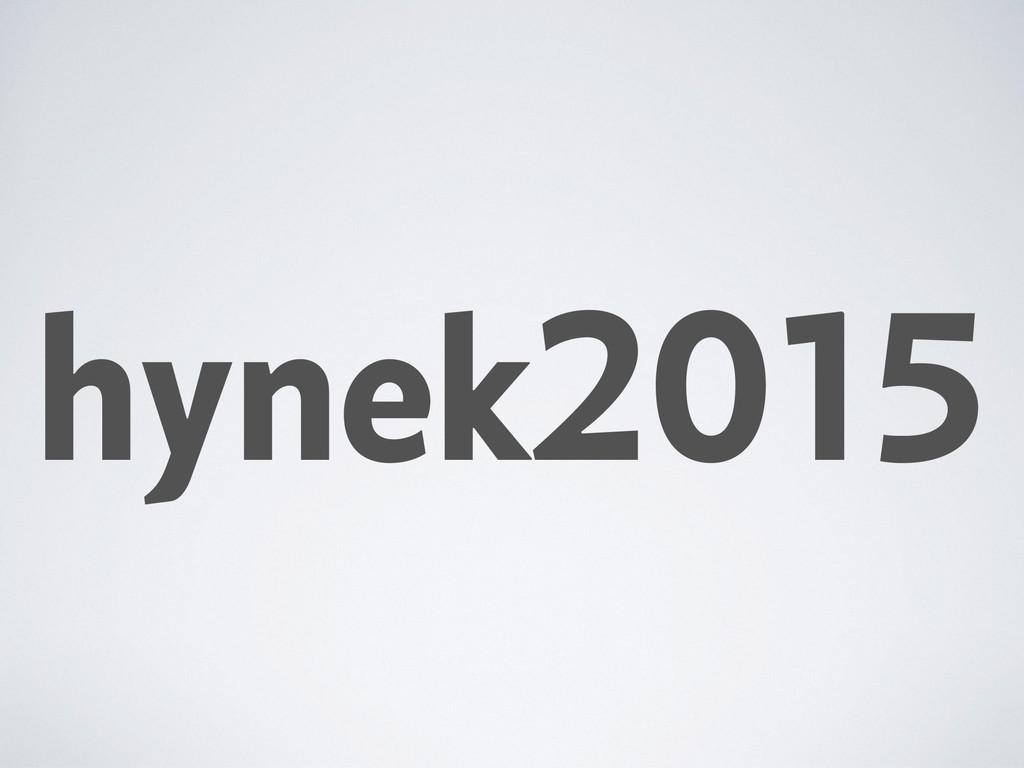 hynek2015