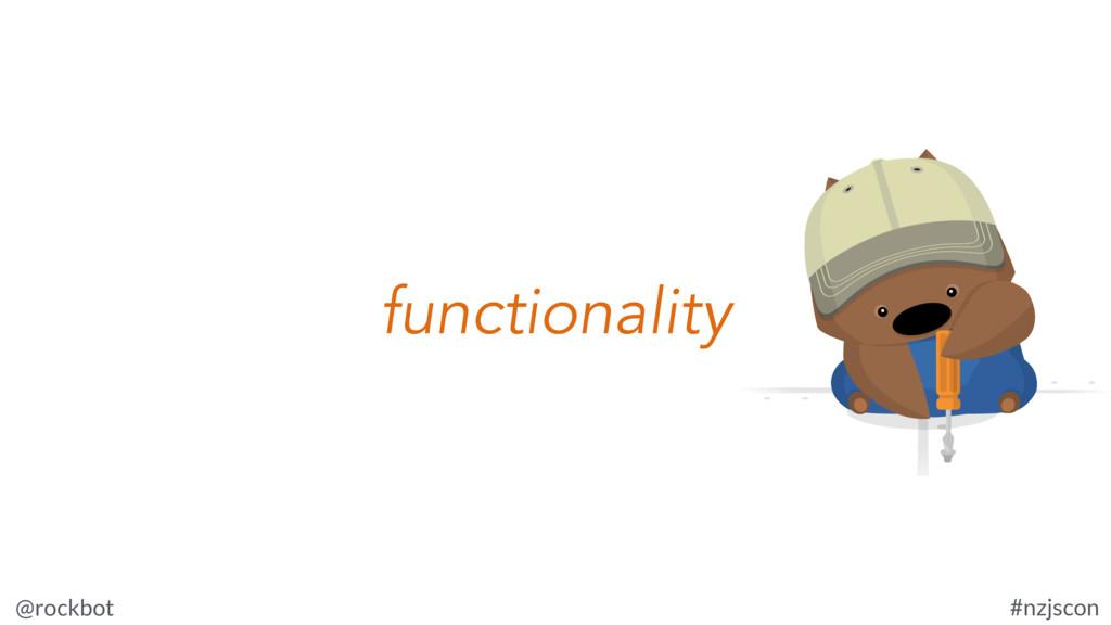 @rockbot #nzjscon functionality