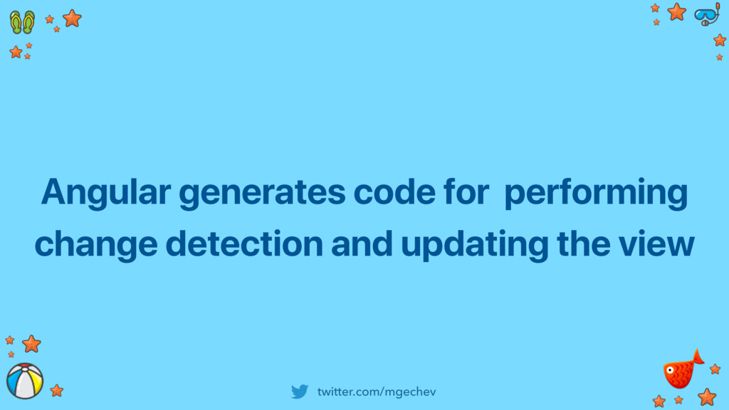 twitter.com/mgechev Angular generates code for ...