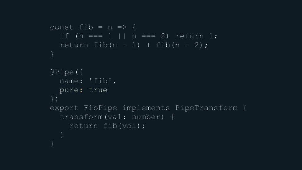 const fib = n => { if (n === 1 || n === 2) retu...