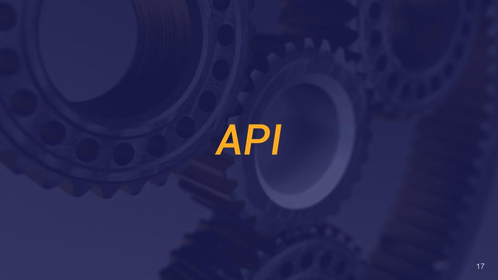 API 17
