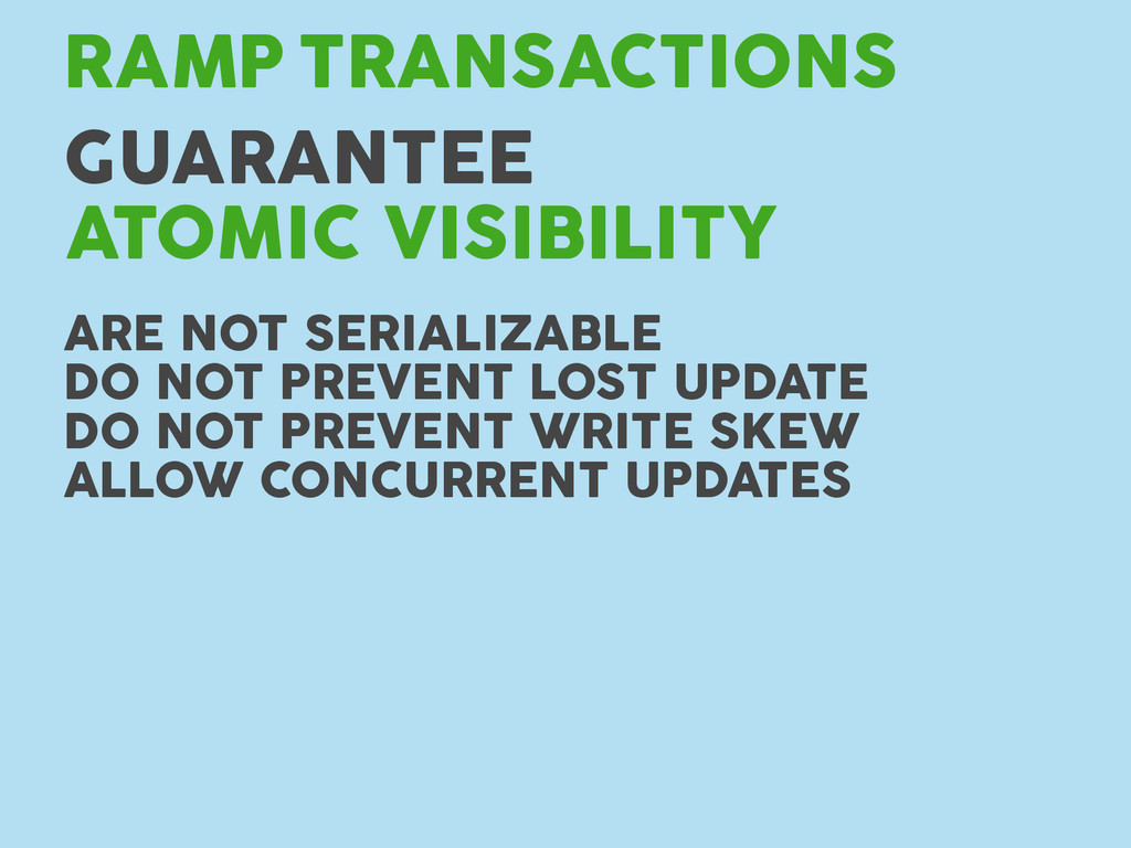 TRANSACTIONS RAMP GUARANTEE ATOMIC VISIBILITY A...