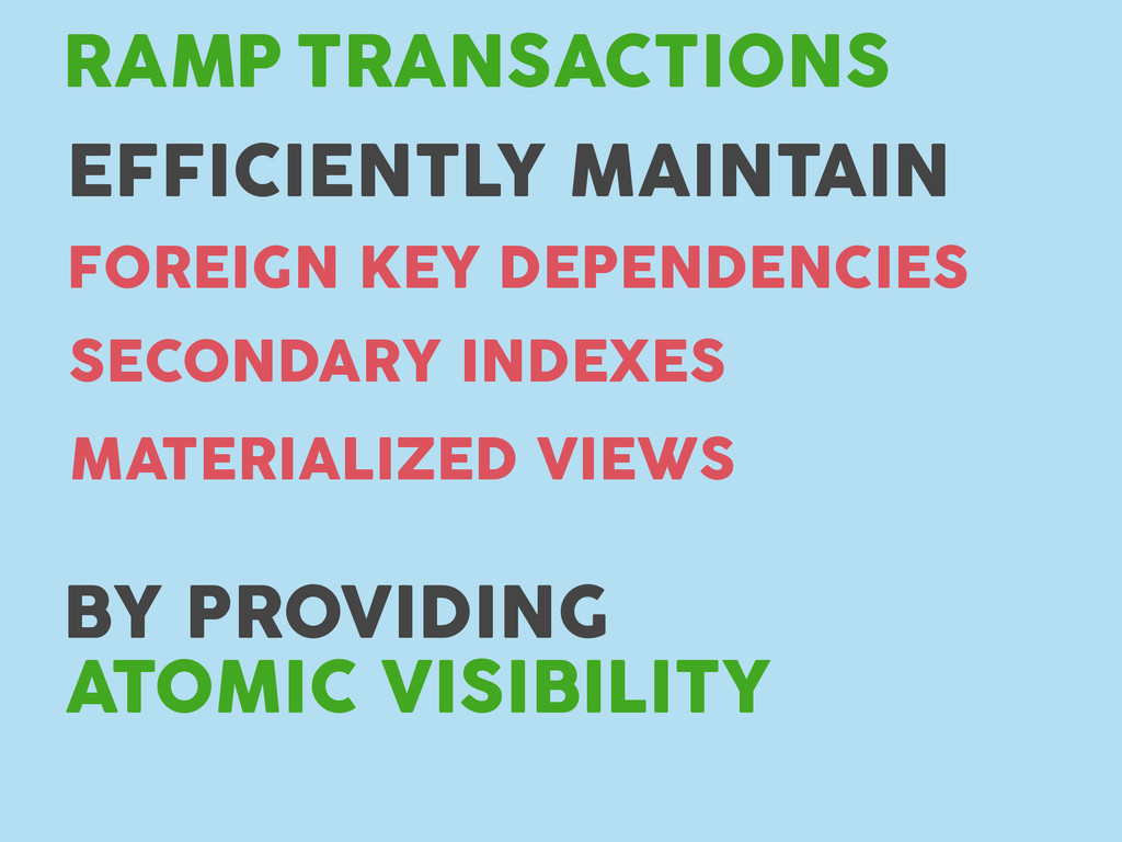 TRANSACTIONS RAMP FOREIGN KEY DEPENDENCIES SECO...
