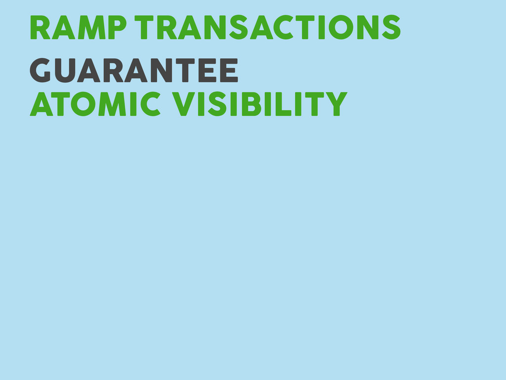 TRANSACTIONS RAMP GUARANTEE ATOMIC VISIBILITY