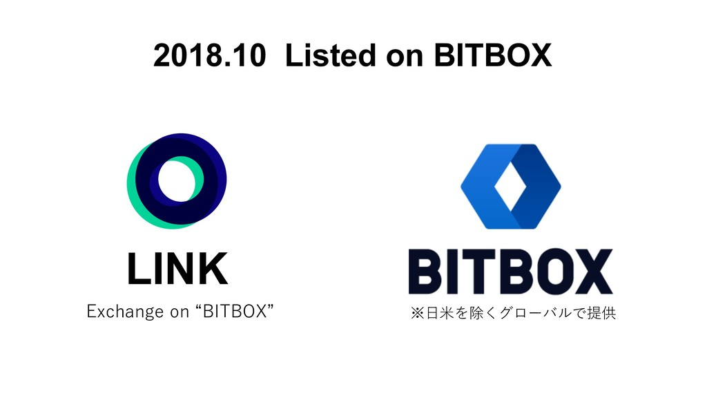 2018.10 Listed on BITBOX LINK
