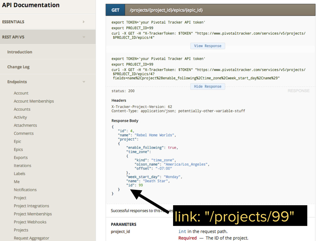 """link: """"/projects/99"""""""