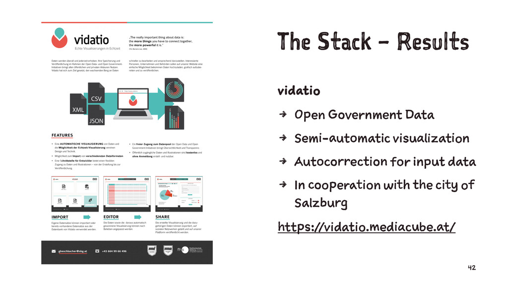 The Stack – Results vidatio 4 Open Government D...
