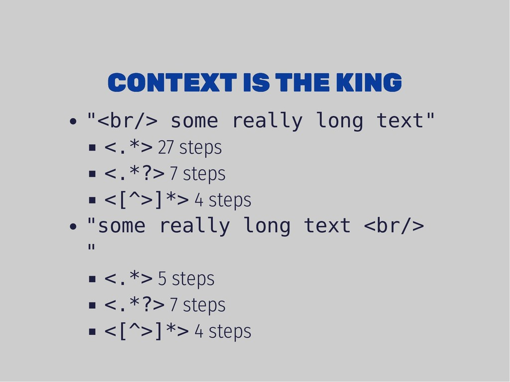 "CONTEXT IS THE KING CONTEXT IS THE KING ""<br/> ..."