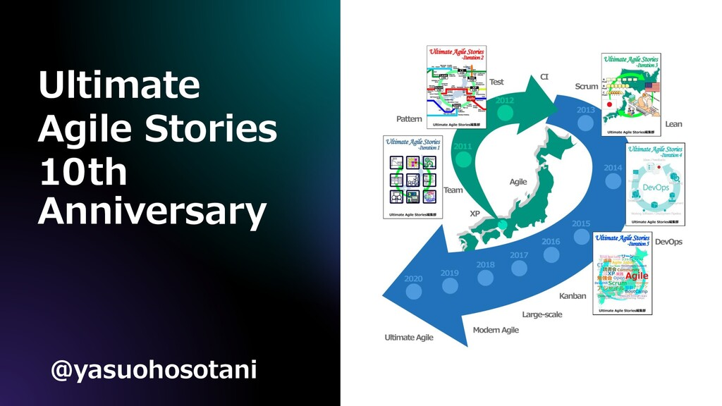 Ultimate Agile Stories 10th Anniversary @yasuoh...