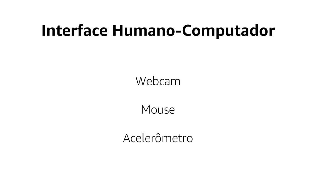Interface Humano-Computador Webcam Mouse Aceler...
