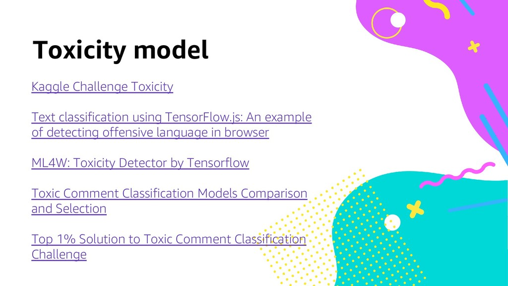 Toxicity model Kaggle Challenge Toxicity Text c...