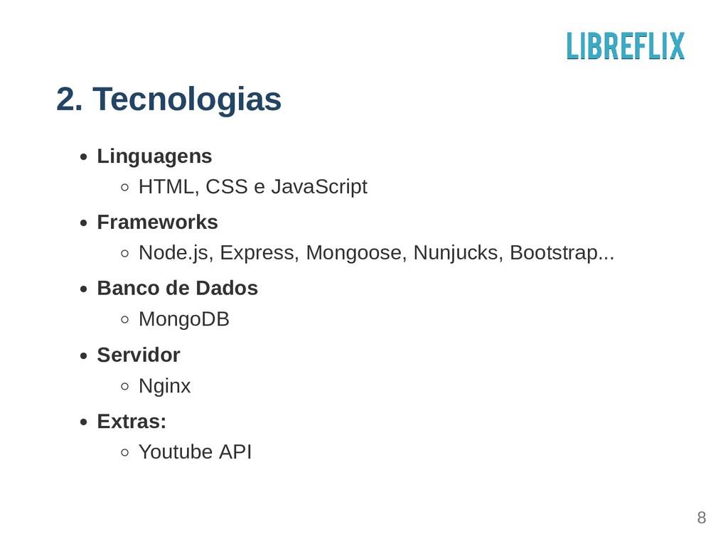 2. Tecnologias Linguagens HTML, CSS e JavaScrip...