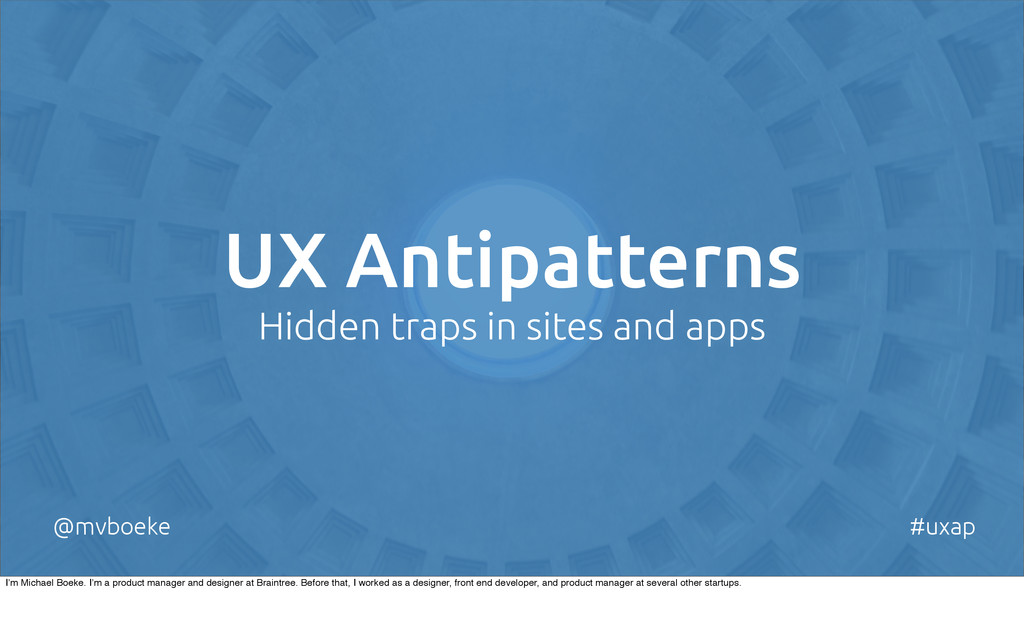 UX Antipatterns Hidden traps in sites and apps ...