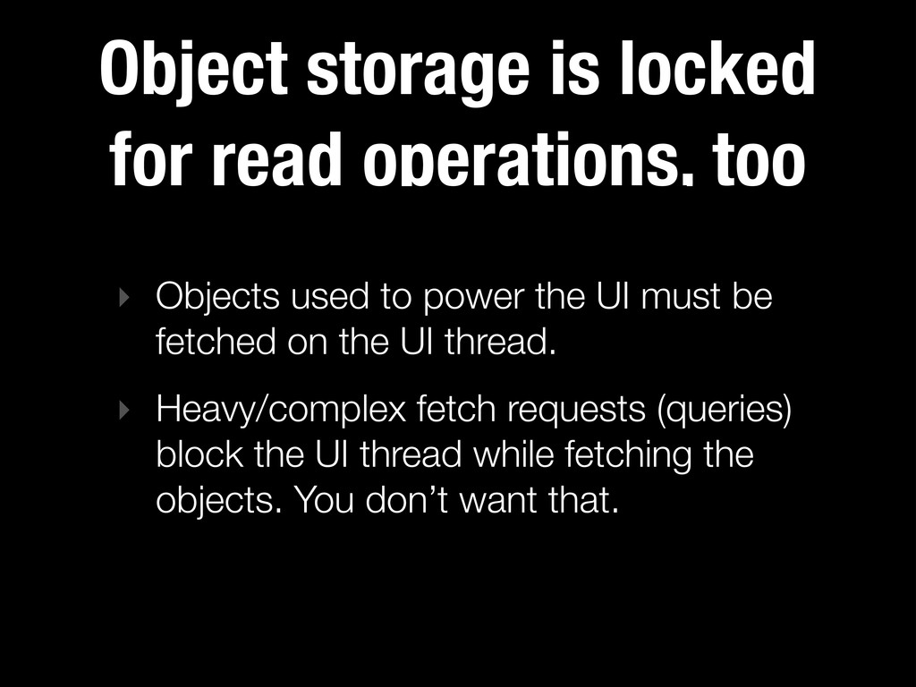 Object storage is locked for read operations, t...