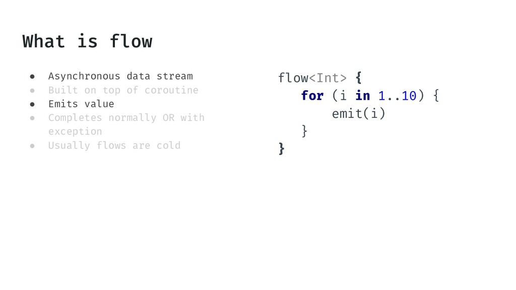 ● Asynchronous data stream ● Built on top of co...