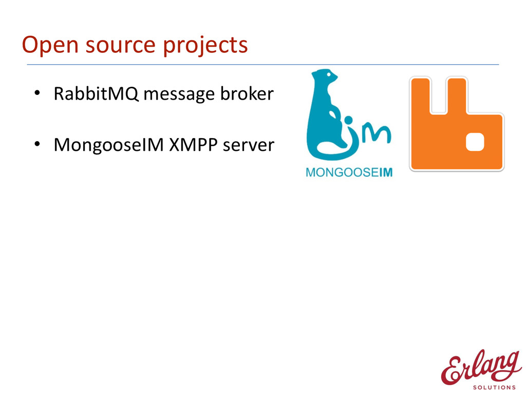 Open source projects • RabbitMQ messag...