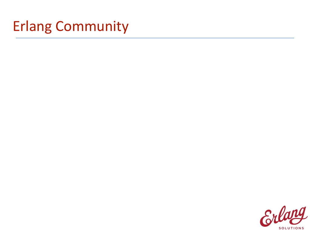 Erlang Community
