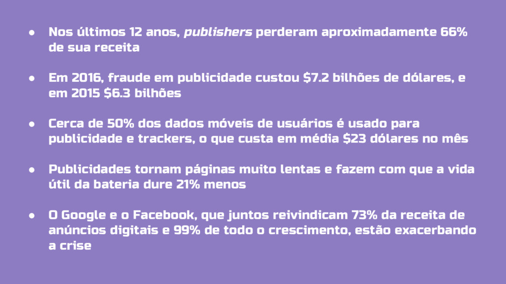 ● Nos últimos 12 anos, publishers perderam apro...