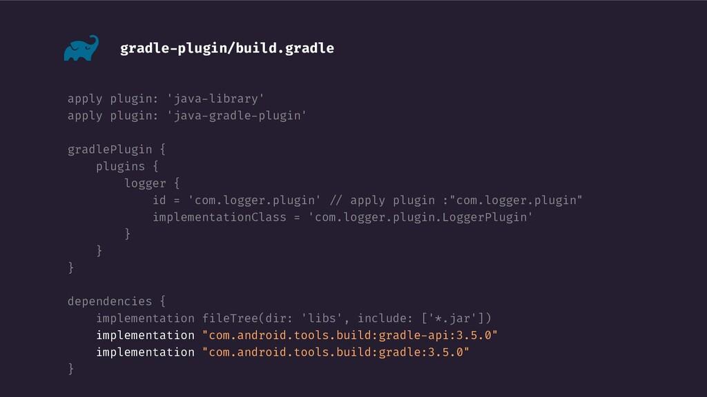 gradle-plugin/build.gradle apply plugin: 'java-...