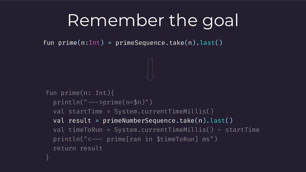 """Remember the goal fun prime(n: Int){ println(""""-..."""