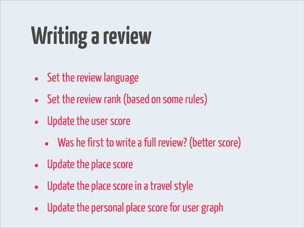 Writing a review • Set the review language • Se...