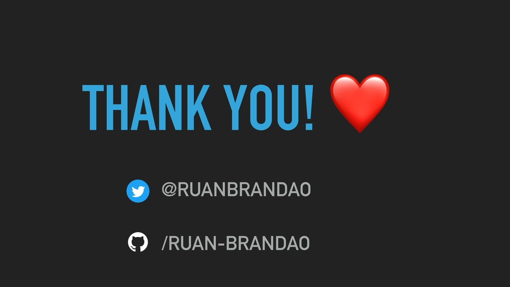 THANK YOU! ❤ @RUANBRANDAO /RUAN-BRANDAO