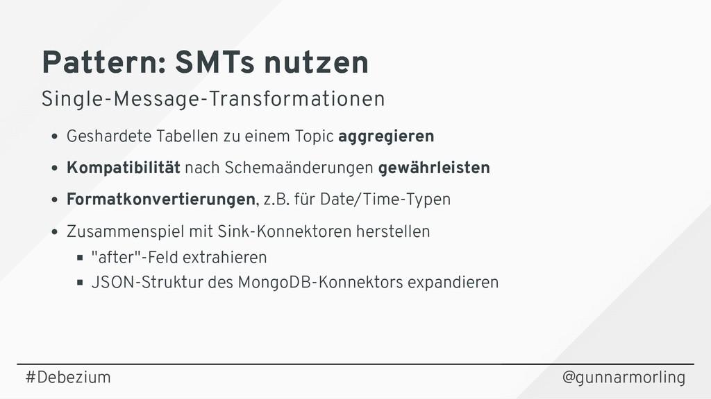 Pattern: SMTs nutzen Pattern: SMTs nutzen Singl...