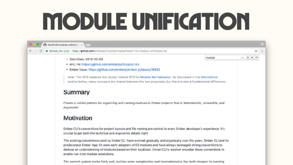 Module Unification