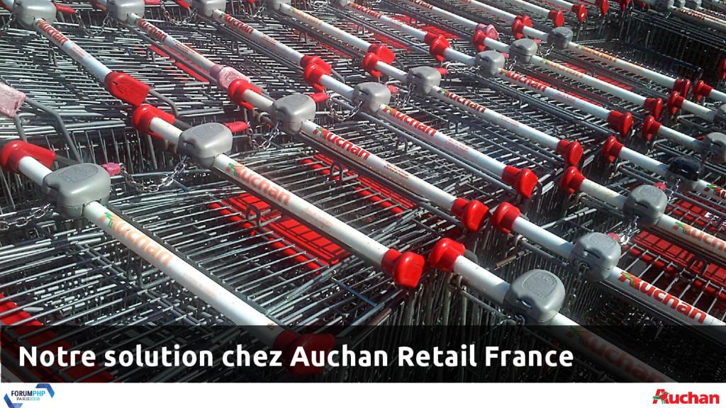 Notre solution chez Auchan Retail France