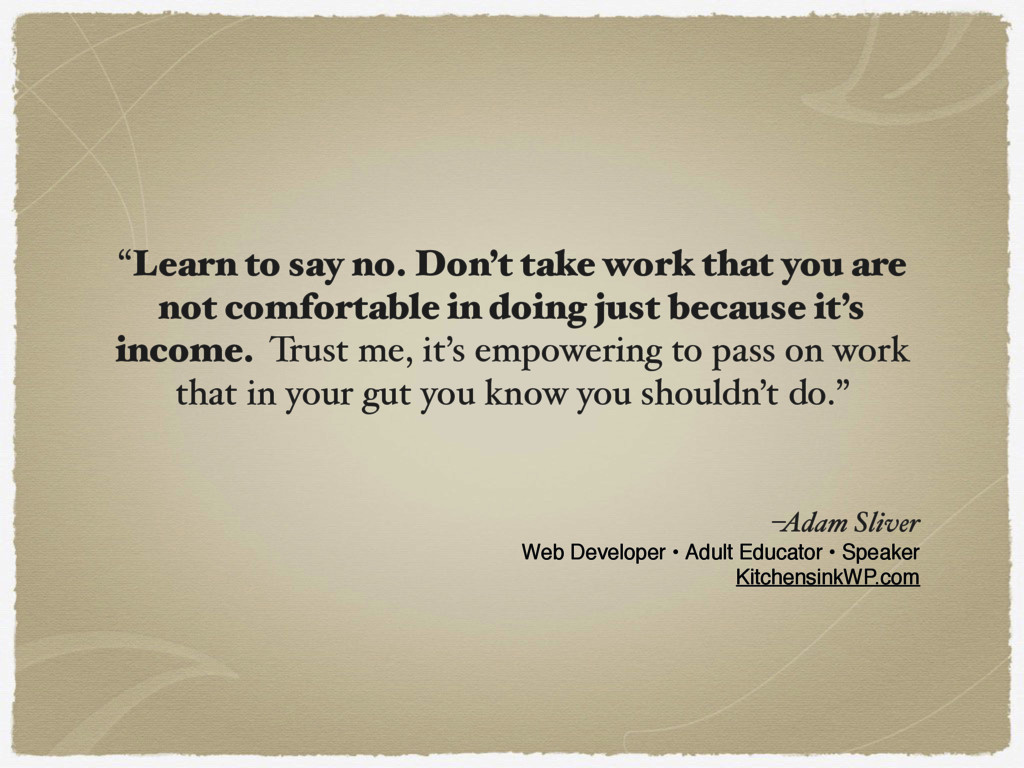 –Adam Sliver Web Developer • Adult Educator • S...