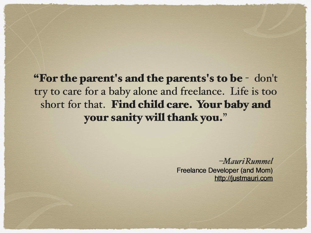 """""""For the parent's and the parents's to be - don..."""