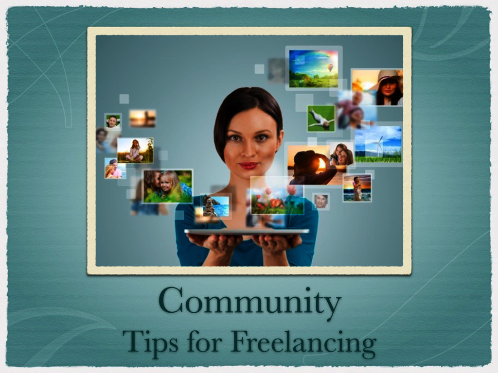 Community Tips for Freelancing