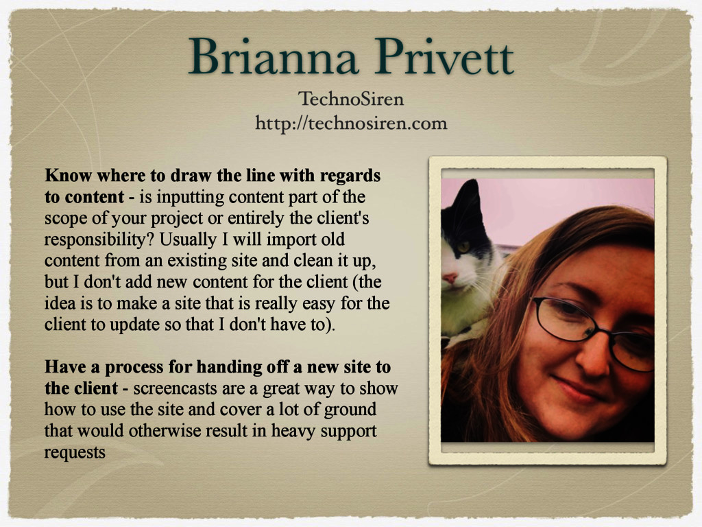 Brianna Privett TechnoSiren http://technosiren....