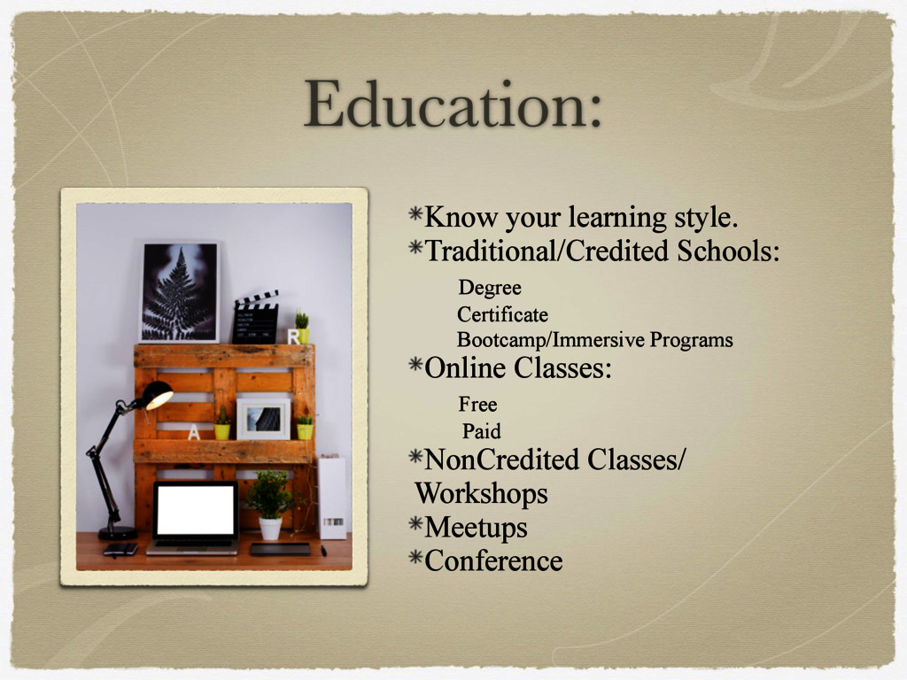 Education: Know your learning style. Traditiona...
